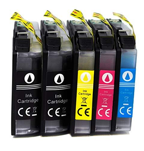 OBV 5X kompatible Tintenpatrone als Ersatz für Brother LC223 XL für DCP-J4120DW J562DW MFC-J480DW J680DW J880DW J4420DW J4620DW J4625DW J5320DW J5620DW J5720DW (5er Set)