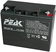Peak Energy PK12V18B1 12V 18Ah NB Replacement Battery