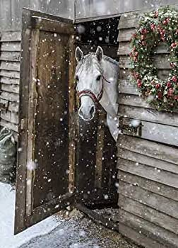 Avanti 10-Count Blank Christmas Notecards with Envelopes The Horse from Snowy Farm