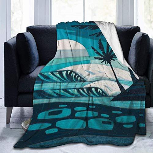 N \ A Manta de forro polar ultra suave, diseño de perros, decoración del hogar, manta cálida para sofá cama, 20 x 60 pulgadas