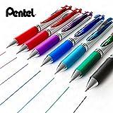 Pentel Energel XM BL77Druck-Gelschreiber, 0,7mm,7Stück