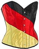 Nick and Ben Fan-Corsage Deutschland-Farben WM 2018 Russland EM Fußball-Accessoire Damen Größe L