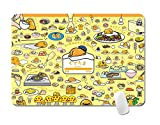 TINGYUANO Anime Gudetama Lazy Egg Mouse Pad Computer Laptop Table Mat Cute Gaming Mouse Pad 9.4''x7.8''