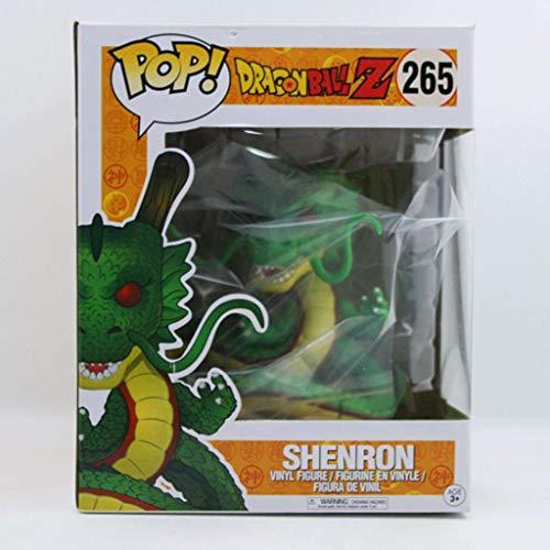 ZRY Dragon Ball Z - Shenron (Color Verde): Pop!Popular y Precioso PVC Figura de Dibujos Animados con la decoración de la Mejor colección for el tamaño de los Fans del Anime: 15 cm