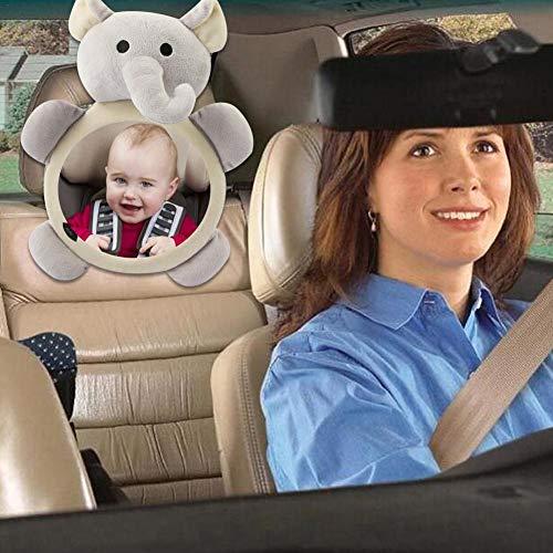 Su-xuri Espejos de asiento de auto para bebé