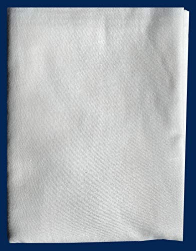 Lolona Fashion's Woven Cotton Fabric Fusible Interfacing 2 Yard by 1.5 Yard for Sewing Iron On Lightweight Interlacing Heat and Bond