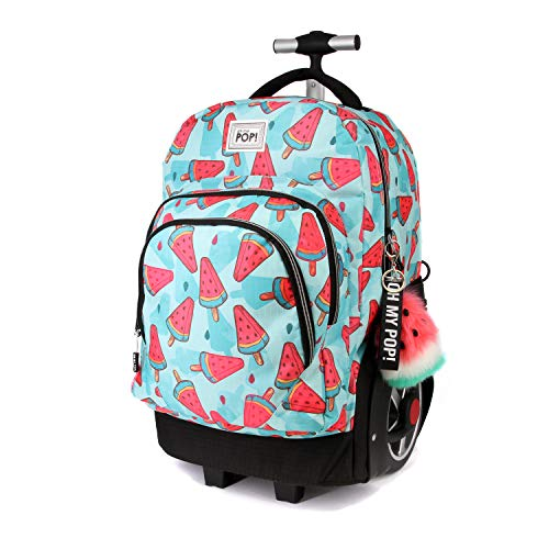 Oh My Pop   Frech GTX Travel Trolley Rucksack Mochila Tipo Casual 53 Centimeters 59.5