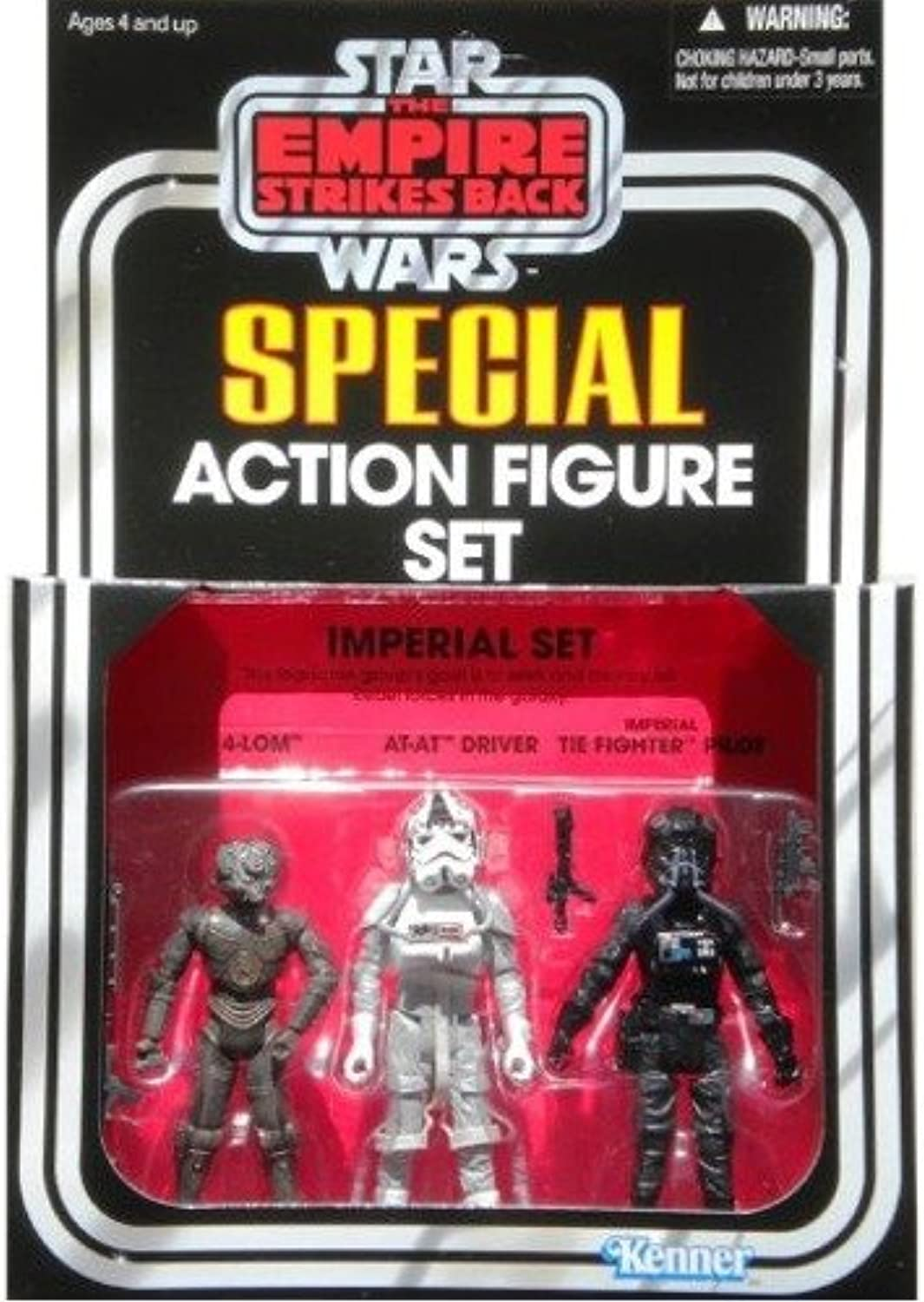 Star Wars 2010 Vintage Collection Exclusive Imperial Action Figure Set