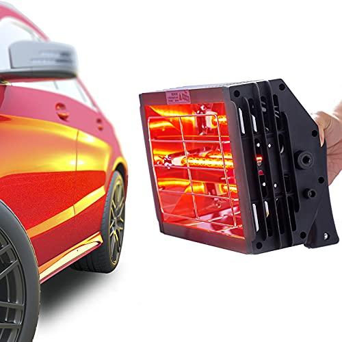 Lacktrockner Infrarot Trockner Strahler 1000 W Kurzwelle Infrarotheizung Handheld Lacktrockner Infrarot Leuchten Auto Karosserie Reparatur Lack Trockner (220 V EU)
