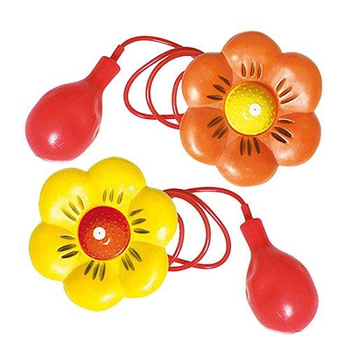NET TOYS Clown Fleur Lance Eau Fleur de Clown farces et attrapes Clown Accessoire Lance Eau Fleur Rigolo Carnaval déguisement Accessoires