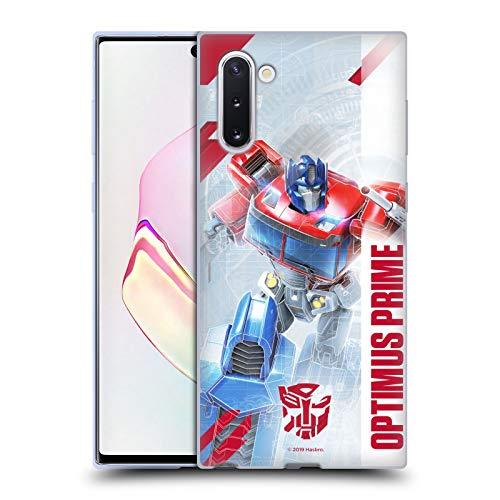 Head Case Designs Oficial Transformers Optimus Prime Arte Clave de Autobots Carcasa de Gel de Silicona Compatible con Samsung Galaxy Note10 / 5G