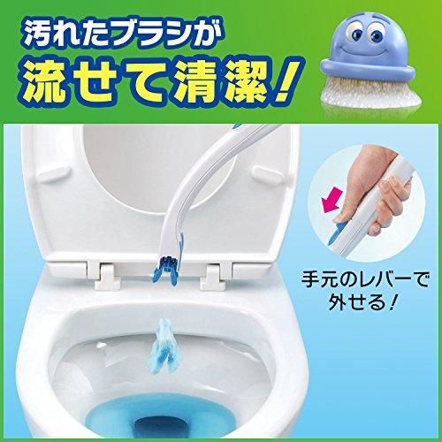 SCジョンソン『スクラビングバブルトイレ洗剤流せるトイレブラシ』