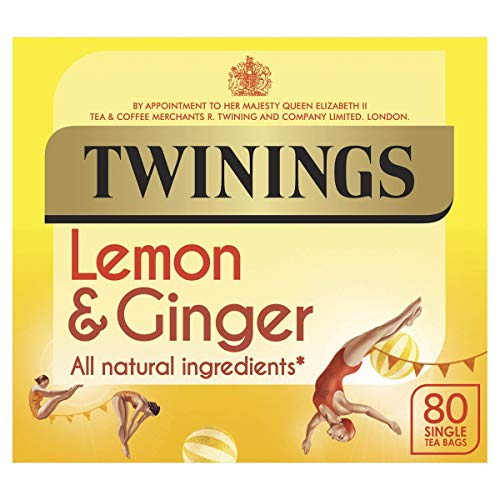 Twinings revive & revitalise Lemon & Ginger 80 Btl. 120g