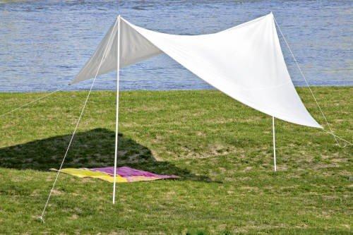 Parasole 4 x 4 m, 4 x 4 x 2,90 m, bianco