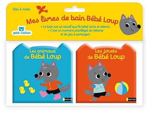 Mes livres de bain Bébé Loup