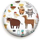 Set Animali Da Fattoria Accessori Agricoli Fauna Selvatica Parchi Di Mucche Ruota Di Scorta Esterna Copertura Pneumatici Impermeabile Antipolvere Universale Per Molti Veicoli