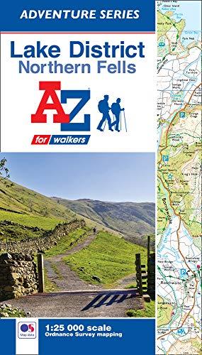 Lake District (Northern Fells) A-Z Adventure Atlas