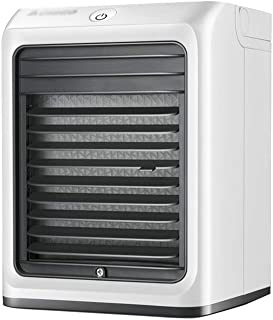XSJZ Mini Ventilador de Refrigeración Por Aire, Hogar Montado En La Pared Hogar Pequeño Aire Acondicionado Refrigerador de Escritorio Ventilador Refrigerado Por Agua Enfriador Portátil Aire Acondicion
