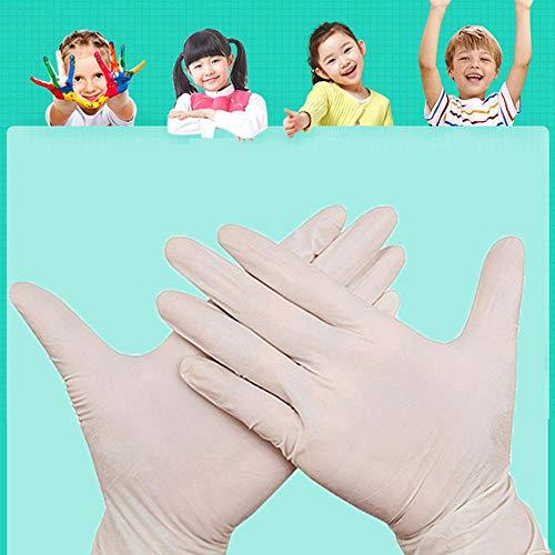 guanti lattice bambini AISE Guanti monouso 100 Pezzi per Bambini