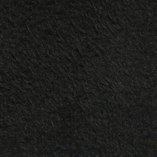 1/8 Foam Backed Synergy II Suede Headliner Fabric 60' Wide Sold by The Yard (Jet Black)