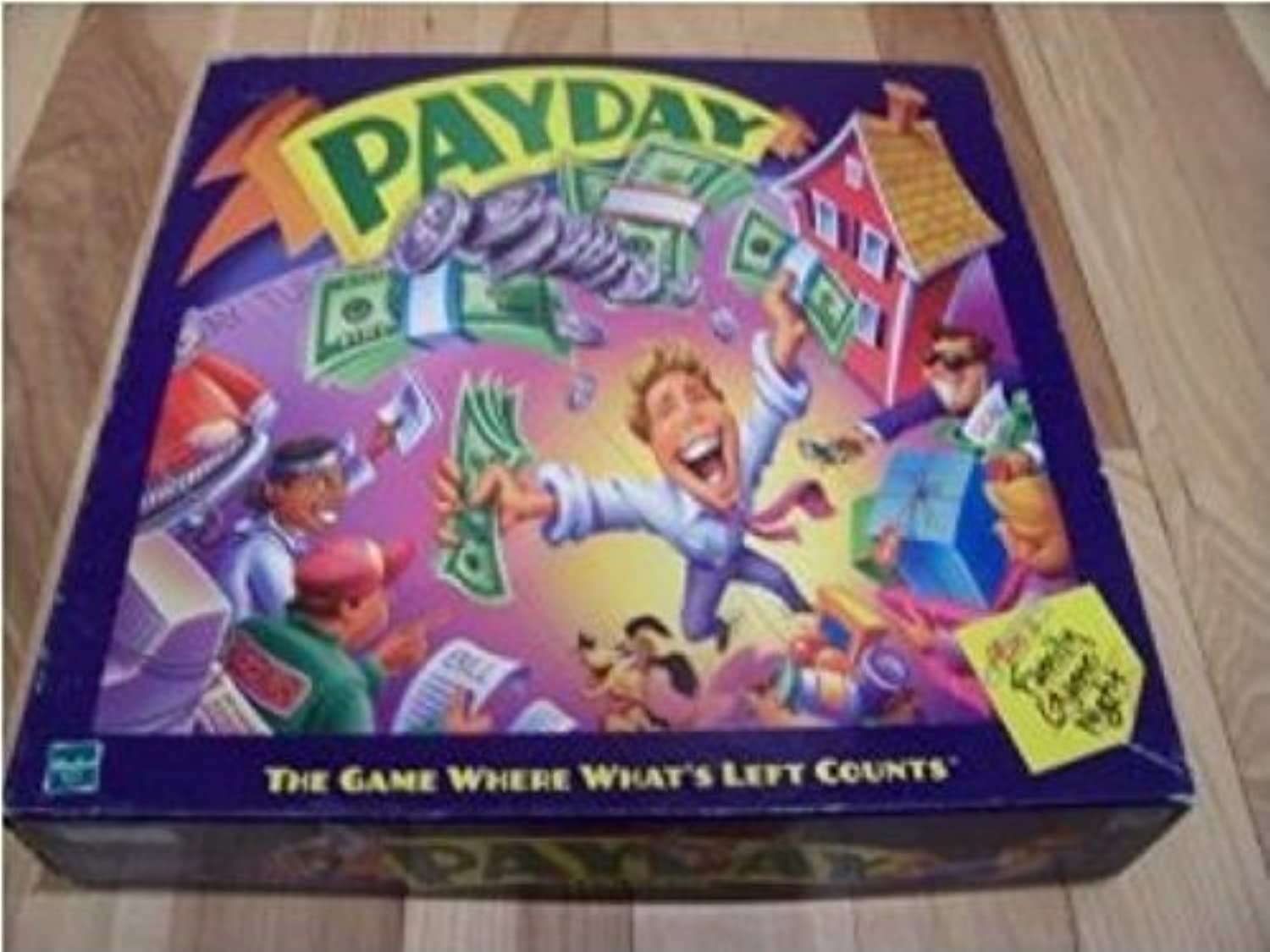Payday Board Game Parker Brothers 2000 Edition by Parker Brothers