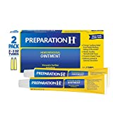Preparation H Hemorrhoidal Ointment 2 Ounce Tube (Pack of 2)