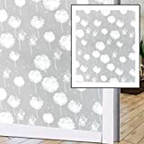 N / A Nueva película autoadhesiva Impermeable PVC Vidrio Esmerilado Ventana Opaca privacidad película Pegatina Dormitorio baño decoración del hogar película A4 30x100cm
