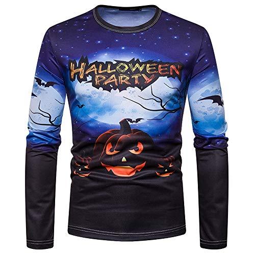 Z&Y Glaa Herren Sweatshirt Pullover Sweat Pulli Mit Rundhalsausschnitt Aus 100% Baumwolle Kostüme...