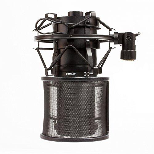 GRANPRO ショックマウント&ポップガード セット ノイズ防止 48-52mm