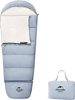 Naturehike 寝袋 キッズ シュラフ 子供用 キャンプ寝袋 封筒型 コンパクト 1人用 連結可能 軽量 アウトドア ツーリング 丸洗い可能 登山 車中泊 保温 防水 防災 四季使用可能 収納袋付き