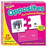 TREND ENTERPRISES, INC. Opposites Puzzle Set, Multicolor, 3 x 6 in
