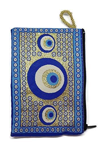 Monedero para Tarjetas, Llaves - diseño de Alfombra - Turco Traditional (15x10cm) - Símbolo de protección