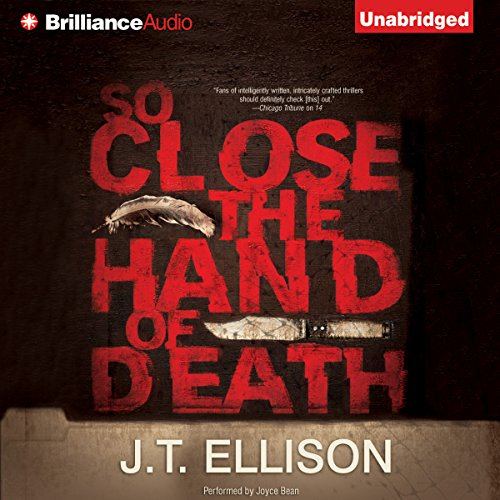 So Close the Hand of Death audiobook cover art