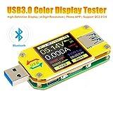 UM34C USB Tester Meter Voltmeter USB Multimeter Spannung Strom USB Spannungsprüfer Bluetooth...