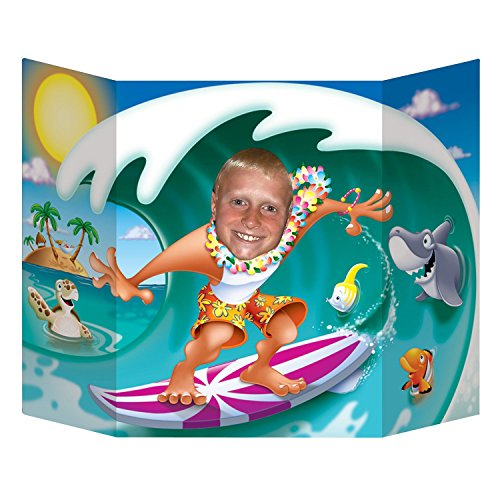 Beistle 57998 Surfer Dude Photo Prop, 3-Feet 1-Inch by 25-Inch by Beistle
