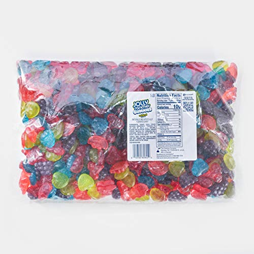 JOLLY RANCHER Gummies Assorted Fruit Flavored Gummy Candy, Bulk, 5 lb Bulk Bag