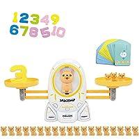数学競技ゲームボードおもちゃ スペースキトンとパピーの競争バランススケール ナンバーバランスゲームキッズ教育玩具