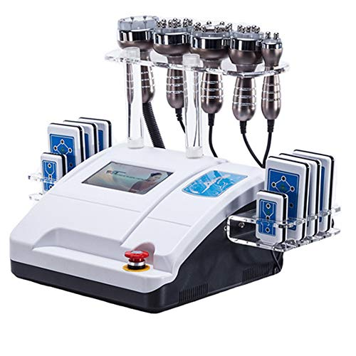 Funkfrequenz-Gerätemaschine Schlankheitskur 5in1 40 kHz lipo kommerzielle Umrisse der Ultraschall-Fettabsaugung Kavitation