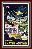 Herbé TM Tourisme Chatel Guyon Auvergne- Poster /