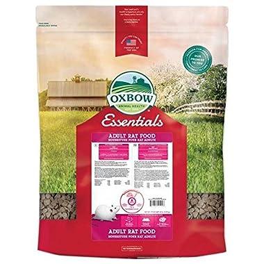 Oxbow Animal Health Essentials Regal Adult Rat Food, 20-Pound