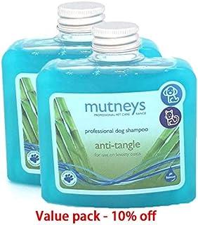 Dog shampoo pet shampoo Mutneys ANTI-TANGLE SHAMPOO 250ML Value pack of 2 pcs