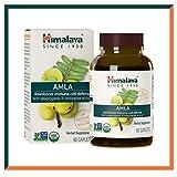 Himalaya Amla (1,406 mg Equiv. en polvo)   Rica fuente de vitamina C y antioxidantes naturales   Para el cuidado del sistema inmunológico   60 caps, 600 mg