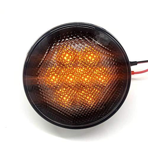 duhe189014 Rund 6W-6.5W Jeep Wrangler LED Blinker Gelb DRL Fern- / Abblendlicht Scheinwerfer DRL Für Wrangler JK/TJ/LJ/Daymaker