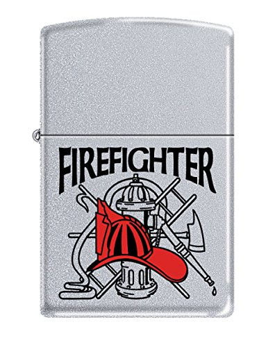Zippo Personalized Message Engraved Customized Gift for Him for Her Firefighter Indoor Outdoor Windproof Lighter