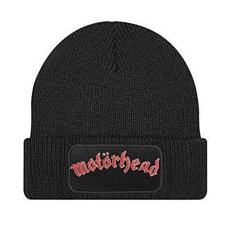 Motörhead Punk, Hard Rock, Rock 'n' Roll und Blues Rock Band Bestickte Logo Beanie Strickmutze - STICK159