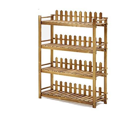 Support De Fleurs en Bois Massif, Type De Plancher Multicouche, Balcon Intérieur, Salon, Décoration, Présentoir, Support pour Plantes