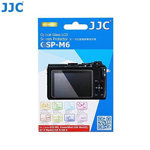 Displayschutzglas für Canon EOS M6, Powershot G9X MarkII, G7 X MarkII, G5 X, G9X