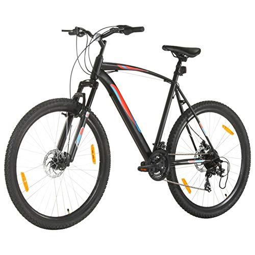 Tidyard Bicicletta Mountain Bike 21 Speed 29' Ruote 58 cm Telaio Nero,Bicicletta Mountain Bike ,Uomini e Donne