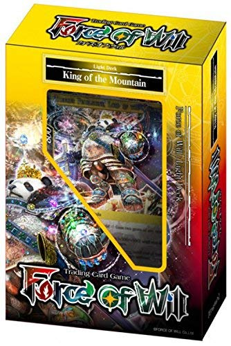 Force Of Will - Light King of The Mountain Starter Deck - New Legend Precipice - 51 Cards - English
