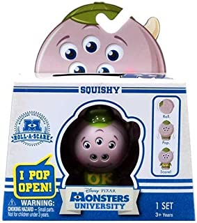 Disney Monsters University - Roll A Scare Monsters - Squishy
